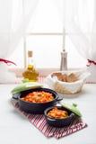 kurczak zup warzywnych Obrazy Royalty Free