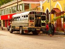 Kurczaka autobus - Gwatemala Obrazy Royalty Free