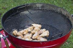 Kurczaka BBQ Grill Zdjęcia Royalty Free