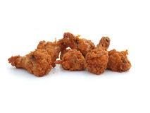 kurczaka crispy smażący zdjęcia royalty free