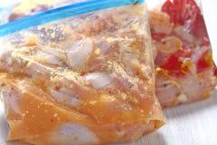 Kurczaka Crockpot chłodni posiłki Zdjęcie Royalty Free