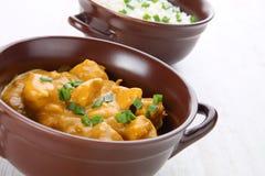 Kurczaka curry Zdjęcia Stock