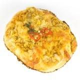 Kurczaka curry'ego chleb Zdjęcie Royalty Free