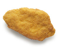 Kurczaka cutlet breaded Fotografia Stock