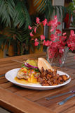 kurczaka dłoniaków kartoflanej kanapki korzenny cukierki Zdjęcie Stock