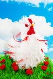 kurczaka dekoraci biel zdjęcie royalty free