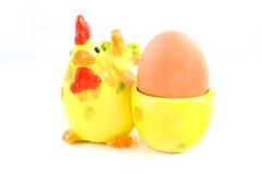 kurczaka filiżanki jajko Zdjęcie Stock