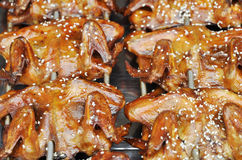 kurczaka grill piec Fotografia Royalty Free
