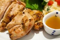 Kurczaka grilla Japoński styl Zdjęcia Royalty Free