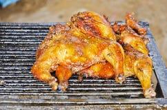kurczaka grilla liść pieczony sałatkowy smakowity Obrazy Stock