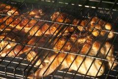 kurczaka grilla liść pieczony sałatkowy smakowity Obraz Royalty Free