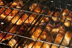 kurczaka grilla liść pieczony sałatkowy smakowity Zdjęcie Royalty Free