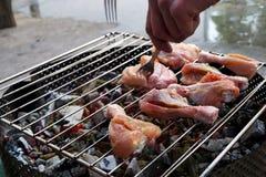 kurczaka grilla mięso Zdjęcie Royalty Free