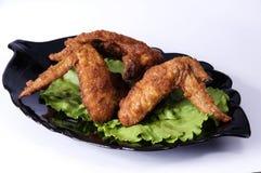 kurczaka grilla skrzydła Fotografia Stock