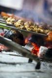 Kurczaka grilla Zdrowy Mięsny jedzenie Obraz Royalty Free