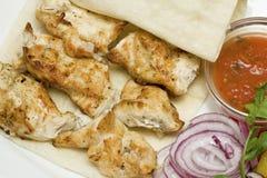 kurczaka jedzenia smakosz Zdjęcia Stock