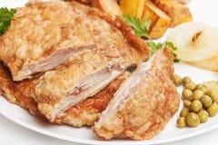 Kurczaka kotlecik zdjęcie stock