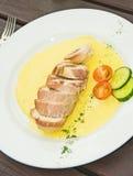 kurczaka lunchu kiełbasa Zdjęcie Stock
