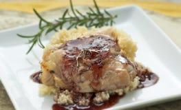 kurczaka naczynie Zdjęcie Stock