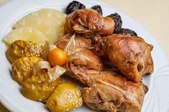 Kurczaka naczynie zdjęcie royalty free