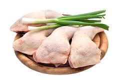 kurczaka nogi ćwiartki obrazy stock
