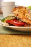 kurczaka podpiekający pepper zdjęcie royalty free