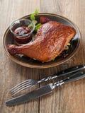 kurczaka pokrojony surowy Zdjęcie Stock