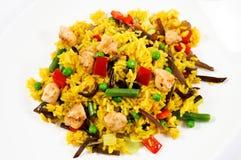 kurczaka risotto zdjęcie stock