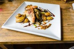 Kurczaka saltimbocca zdjęcia royalty free