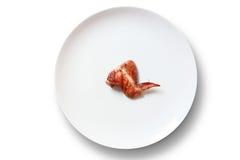 Kurczaka skrzydło Zdjęcie Stock