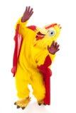 kurczaka spadać mężczyzna niebo Zdjęcia Royalty Free