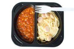 Kurczaka spaghetti Zdjęcie Stock