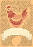 kurczaka symbol Obrazy Stock