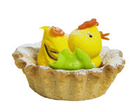 Kurczaka tort Fotografia Stock
