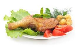 Kurczaka udo Fotografia Stock