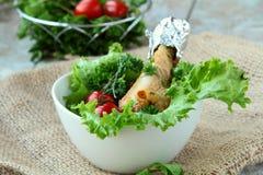 kurczaka warzywo świeży sałatkowy Obrazy Royalty Free