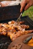 kurczaka z grilla Obrazy Royalty Free