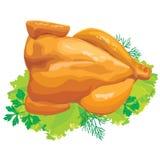 kurczaka ziele pieczeń Zdjęcie Stock