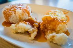 kurczaki smażony ryż Zdjęcia Royalty Free