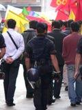 Kurden protestieren, Bologna Lizenzfreies Stockbild