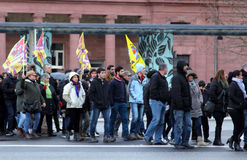 Kurdish Demonstration in Germany Royalty Free Stock Photo