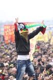 Kurdish Feast Newroz. KURDİSH FEAST NEWROZ,ISTANBUL,TURKEY -MARCH 20: Kurdish feast Newroz was celebrated by Kurds on March 20, 2011 in Istanbul, Turkey Stock Images