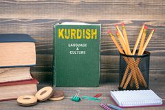 Kurdish language and culture concept Stock Images