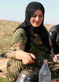 Kurdish mother Royalty Free Stock Images