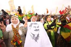kurdish newroz för festmåltid arkivfoto