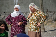 Kurdish people in Diyarbakir Royalty Free Stock Image