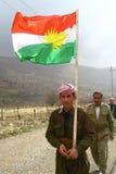 kurdish peshmerga arkivbild
