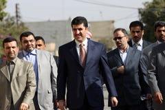 Kurdish Prime Minister Royalty Free Stock Photos