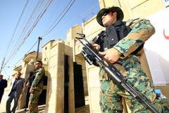 kurdish soldat Arkivbilder