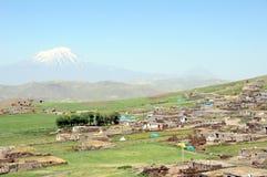 Kurdish village, Turkey Royalty Free Stock Photography
